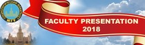 FACULTY PRESENTATION 2018